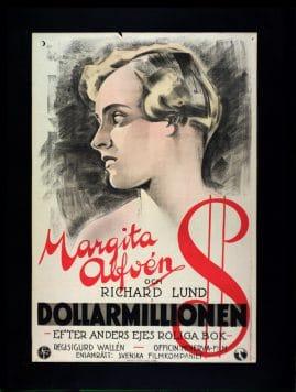 Dollarmillionen : Lustspel för filmen i sex akter