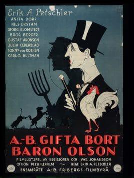 A.-B. Gifta Bort Baron Olson