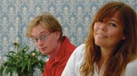 Karl Persson och Christina Erman Widerberg