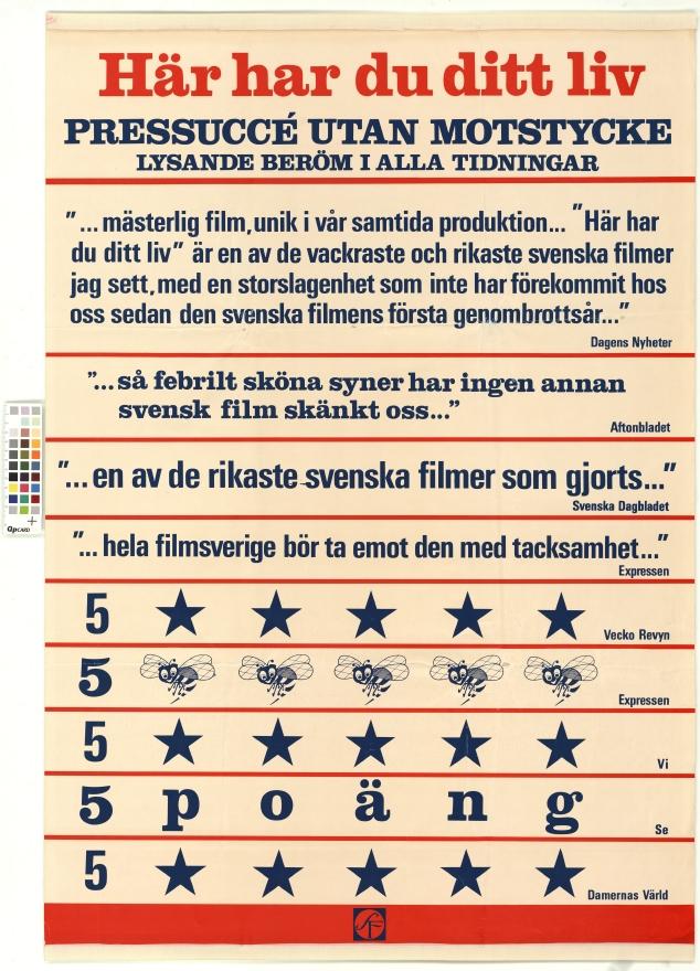 Här har du ditt liv (1966) – Svensk Filmdatabas c2ddcc441734f