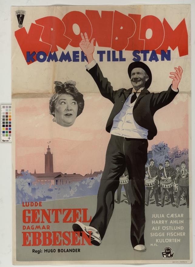 Affischer talar pa stan