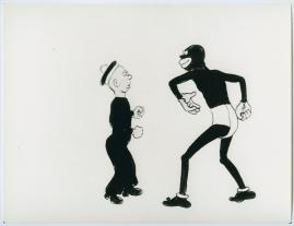 Kapten Grogg och Kalle på niggerbal - image 1