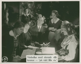 Brokiga Blad : Parodisk tidskrift. Motto: God dag, yxskaft - image 73