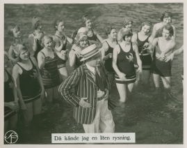 Brokiga Blad : Parodisk tidskrift. Motto: God dag, yxskaft - image 11