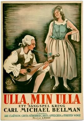 Ulla, min Ulla... : Ett sångspel kring Carl Michael Bellman