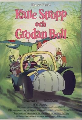 Kalle Stropp och Grodan Boll