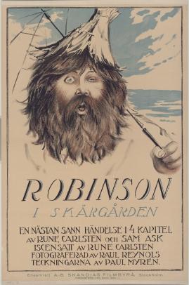 Robinson i skärgården : En nästan sann händelse i fyra kapitel