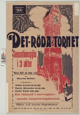 Det röda tornet : Drama i 3 akter
