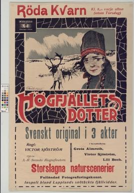 Högfjällets dotter : Svenskt original i 3 akter