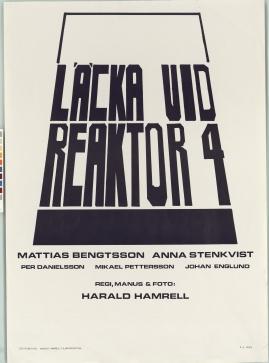 Läcka vid reaktor 4