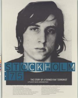 Stockholm 75 - en film om en f.d. RAF-terrorist - image 1