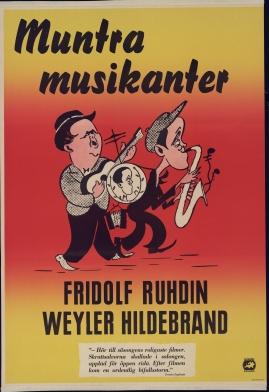 Muntra musikanter : Lustspel för filmen - image 34