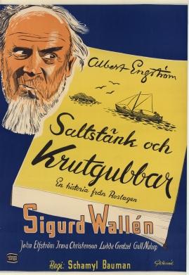 Saltstänk och krutgubbar : Liv och leverne i skärgården enligt Albert Engström