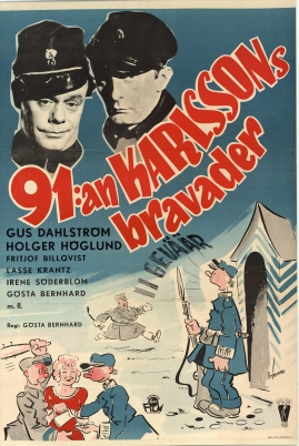 91 Karlssons bravader