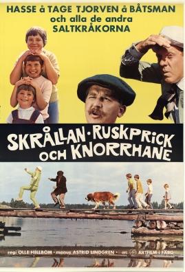 Skrållan, Ruskprick och Knorrhane