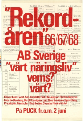 Rekordåren 1966, 1967, 1968 ...