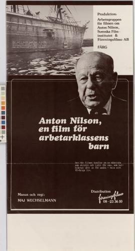 Filmen om Anton Nilson. Till arbetarklassens barn - image 1