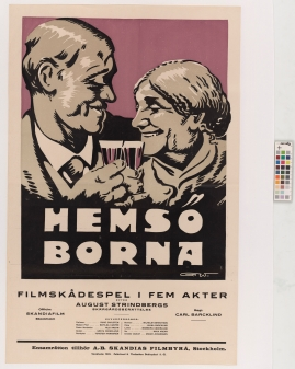 Hemsöborna : Filmskådespel i fem akter efter August Strindbergs skärgårdsberättelse