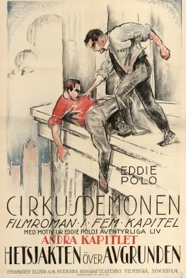 Cirkusdemonen : Filmroman i fem kapitel ur Eddie Polos äventyrsfyllda liv