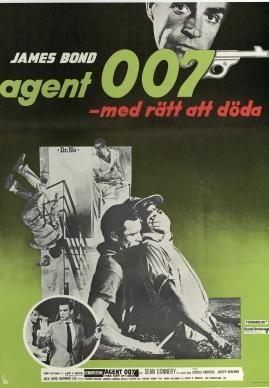 Agent 007... med rätt att döda