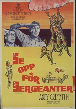 Se opp för sergeanter