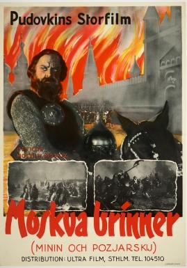 Moskva brinner